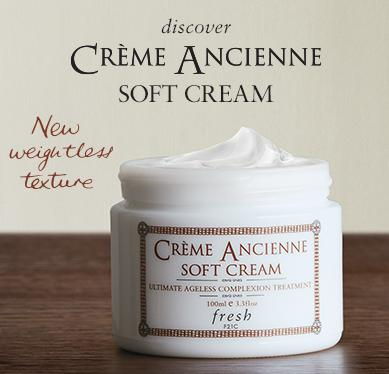 Free Crème Ancienne Soft Cream Deluxe SampleWith Over $100 Purchase @ Fresh