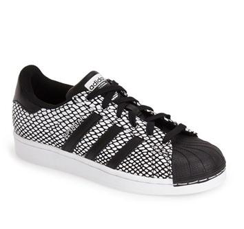 adidas 'Superstar' Snake Embossed Women's Sneaker On Sale @ Nordstrom