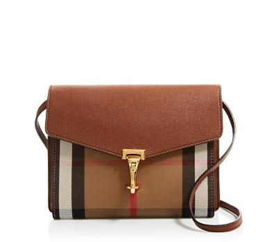Burberry Small House Check Macken Crossbody @Bloomingdales