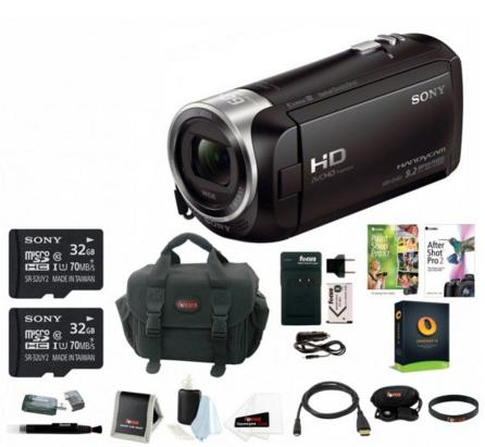 Sony HDR-CX405 1080p Full HD 60p Handycam Camcorder