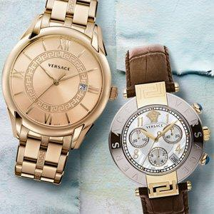 Up to 70% Off Versace Women's & Men's Watches On Sale @ Rue La La
