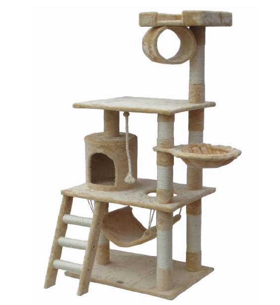 $41.99 Go Pet Club Cat Tree Furniture 62 in. High