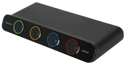Belkin F1DS104L 4-port KVM Switch