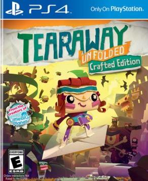 Tearaway: Unfolded Crafted Edition PlayStation 4