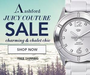 Up to 73% off Juicy Couture watches sale @ Ashford