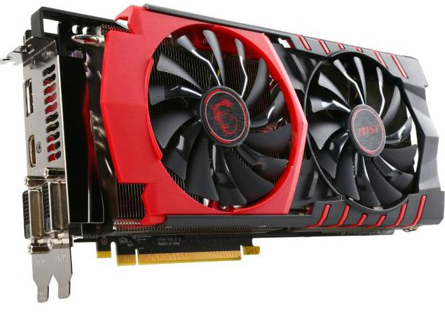MSI Radeon R9 390X 8GB 512-Bit GDDR5 Video Card