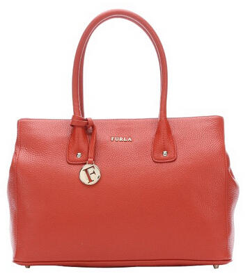 Furla maple leather medium 'Serena' tote