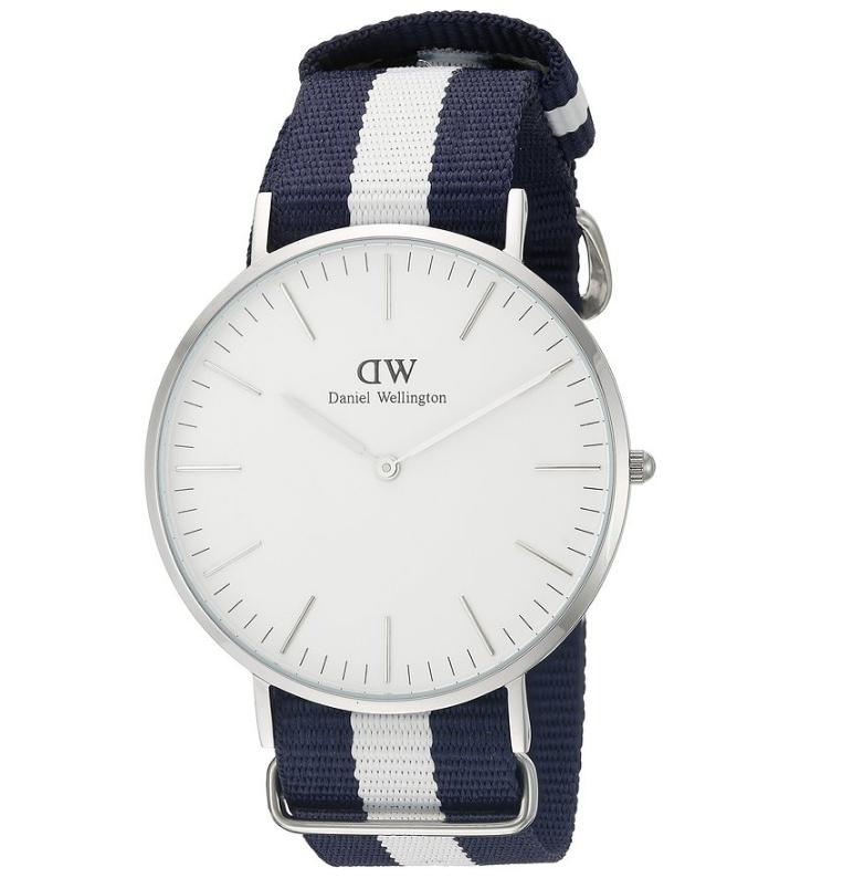 $84.93 Daniel Wellington Men's Glasgow Analog Display Quartz Two Tone Watch