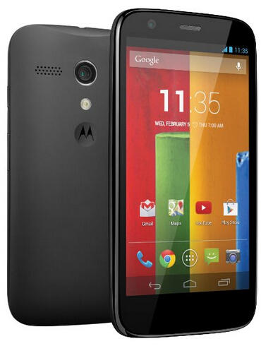 Motorola Moto G (1st Generation) - Black - 16 GB - US GSM Unlocked Phone