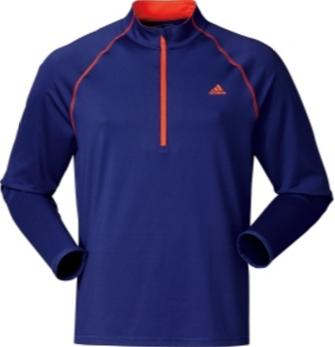adidas Men's Advantage Quarter-Zip Golf Pullover