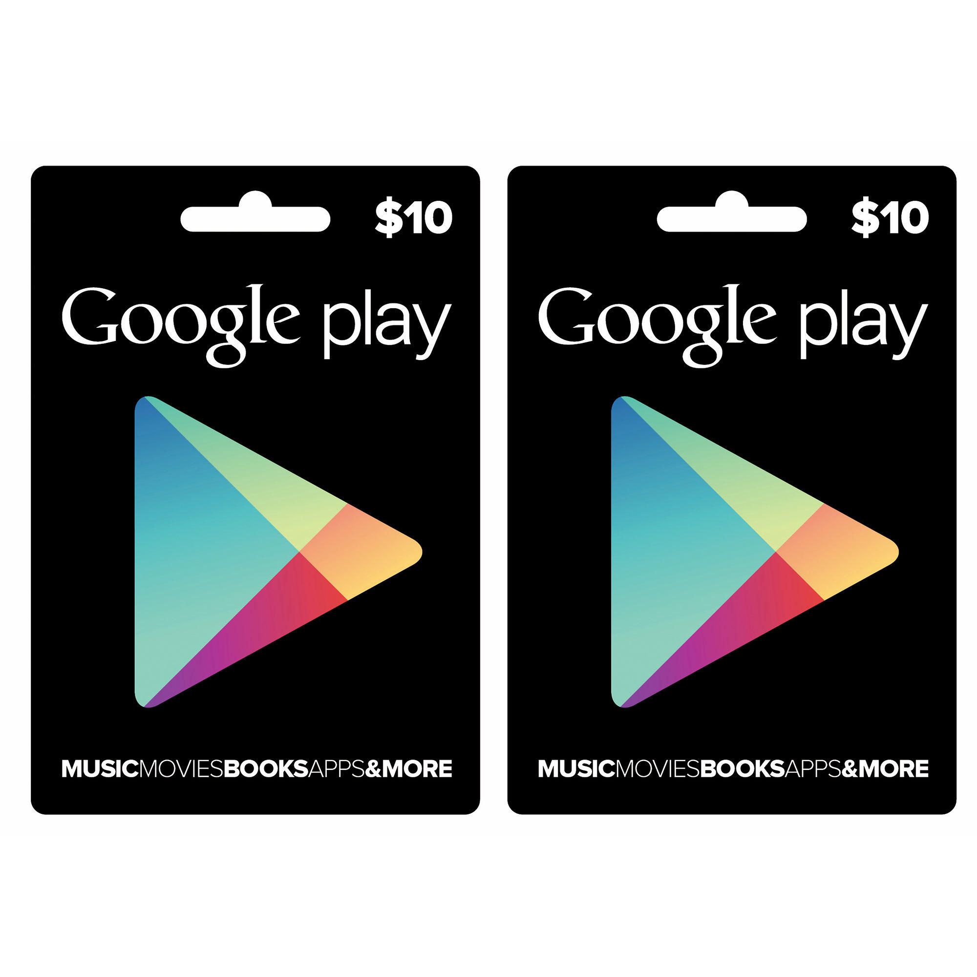 $14.49 $10 Google Play Gift Card, 2-Pk