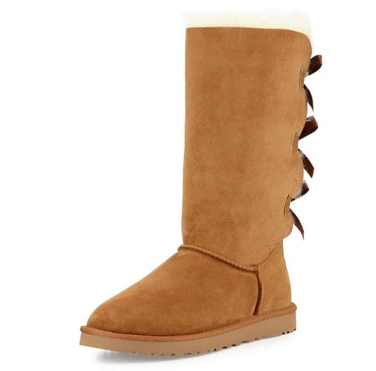 UGG Bailey Tall Bow-Back Boot @ Neiman Marcus