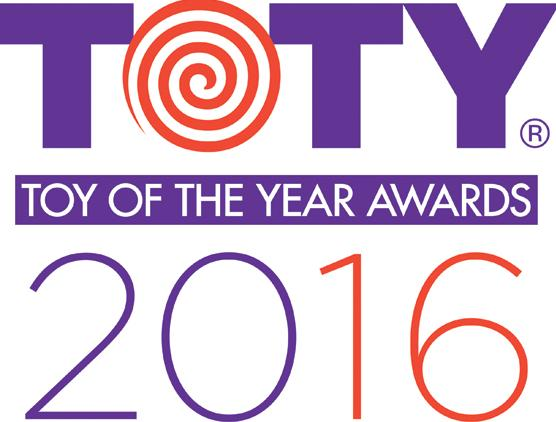 Toy of the Year 2016 Winners