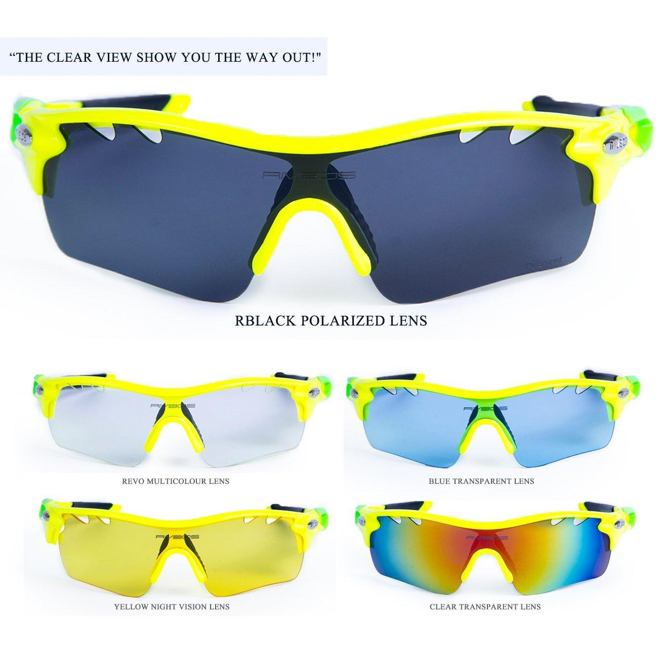 RIVBOS 801 POLARIZED Sports Sunglasses Glasses