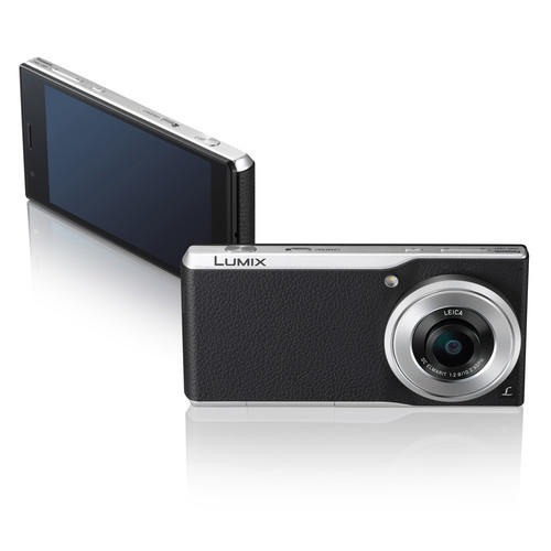 Panasonic Lumix DMC-CM1P 16GB 4K Photo Camera and Smartphone (Unlocked, Black/Silver)