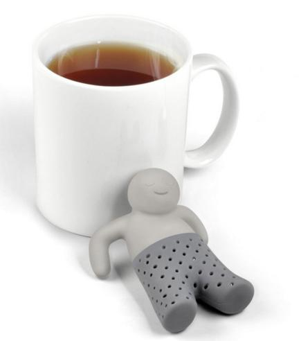 $3.29 Fred and Friends MR. TEA Silicone Tea Infuser