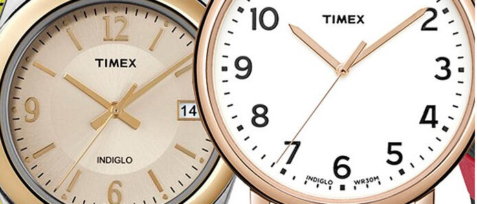 Up to 69% Off Select Timex Watches @ woot!
