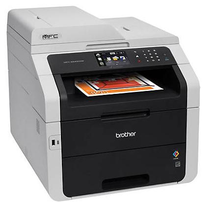 Brother MFC9340CDW All-in-One Wireless Digital Color Laser Printer