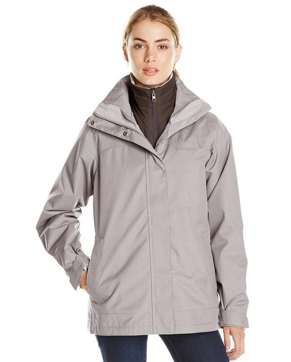 Columbia Women's Sleet-To-Street Interchange Jacket @ Amazon