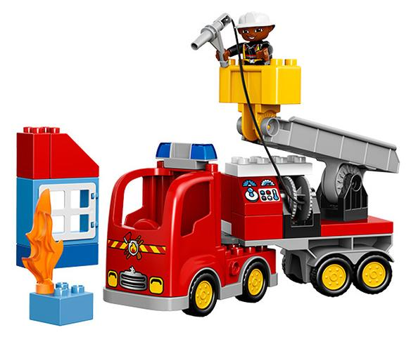 LEGO DUPLO Town 10592 Fire Truck Building Kit @ Amazon