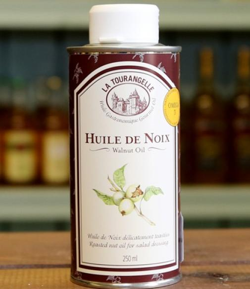 $6.59 La Tourangelle Roasted Walnut Oil, 16.9 oz. Can