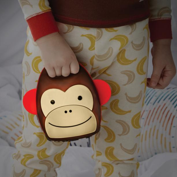 Lightning Deal Skip Hop Zoo Take-Along Nightlight, Monkey