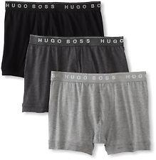 HUGO BOSS Men's Cotton Stretch Boxer Brief, Pack of 3