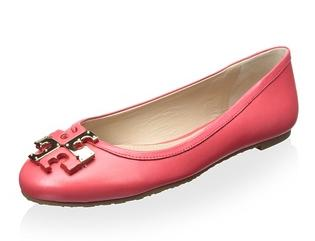 Tory Burch Lowell Ballet Flat On Sale @ MYHABIT