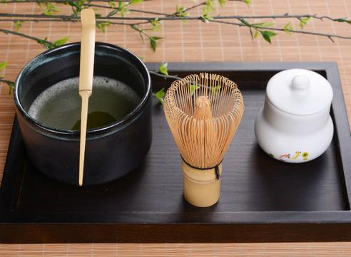 $11.88 Chasen + Chashaku for preparing Matcha + Tea Spoon