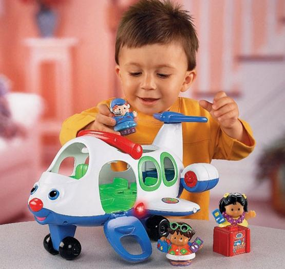 $12.99 Fisher-Price Little People Lil' Movers Airplane @ Amazon