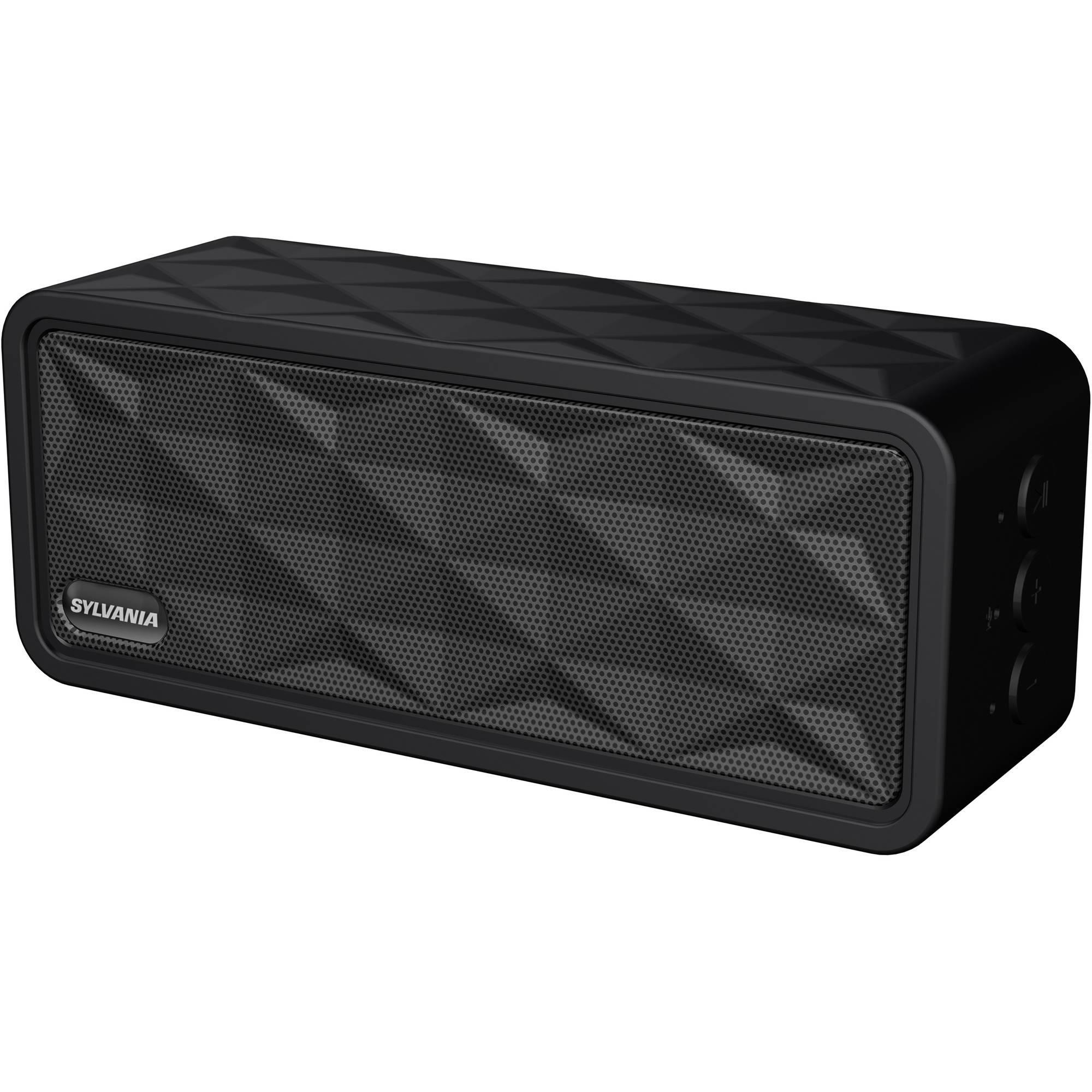 Sylvania Premium Portable Bluetooth Rugged Garage Speaker