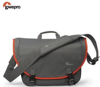 Lowepro Passport Messenger Shoulder Bag for Compact DSLR or CSC Cameras, Gray