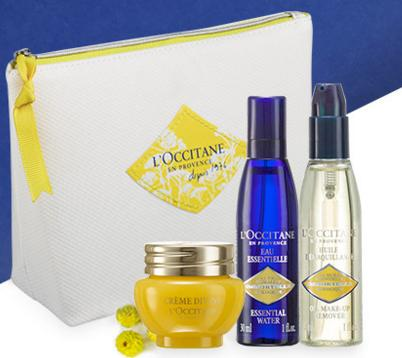 Free Three Deluxe Samples with any $120 Purchase @ L'Occitane