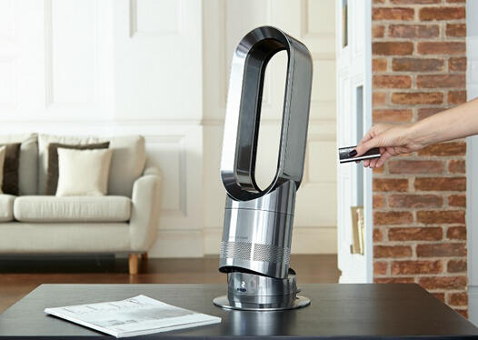 $179.99 Dyson - AM05 Hot + Cool Fan Heater (Certified Refurbished)