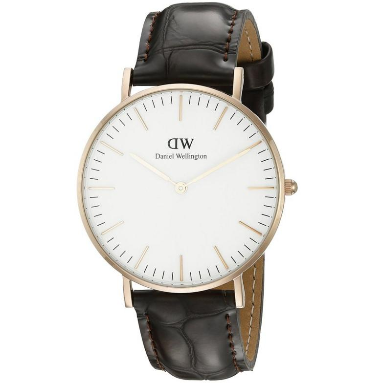 $85.97 Daniel Wellington Women's 0510DW Classic York Stainless Steel Watch