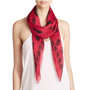 Up to $200 Off Alexander McQueen Scarf @ Saks Fifth Avenue