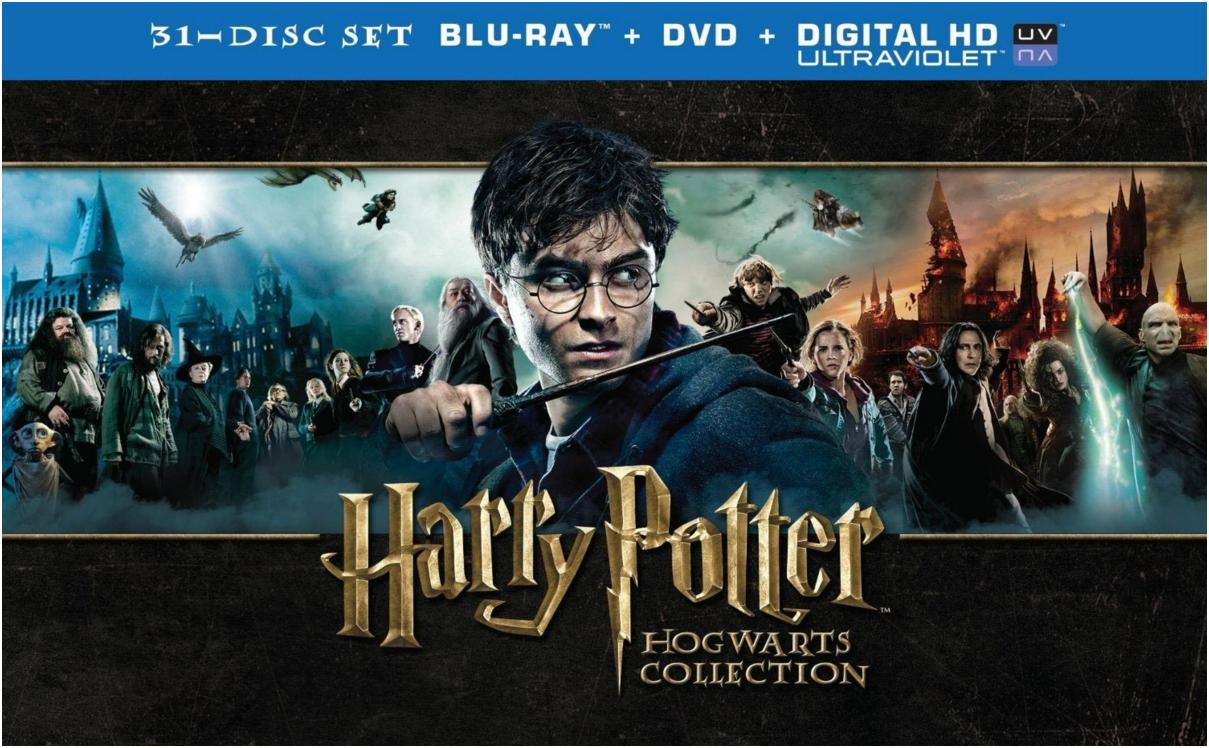 Harry Potter - Hogwarts Collection [Blu-ray + DVD] [Region Free]