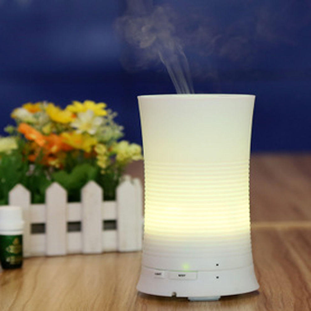 Ultrasonic Air Humidifier Purifier Aroma Diffuser 7 Color Changing Rainbow LED
