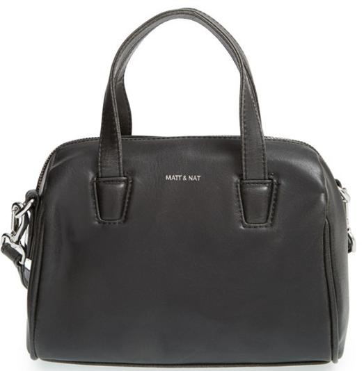 $54.98 Matt & Nat 'Mini Mitsuko' Vegan Leather Satchel On Sale @ Nordstrom