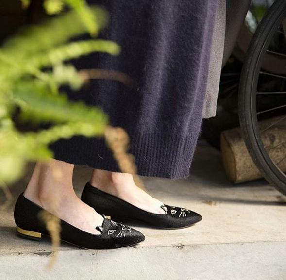 Up to $200 Off Charlotte Olympia Kitty Flats @ Saks Fifth Avenue