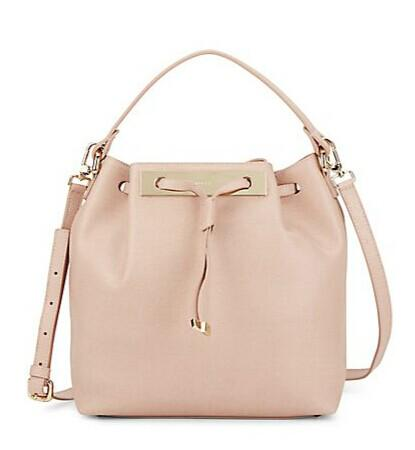 Furla Mia Drawstring Leather Bucket Bag @ Saks Off 5th