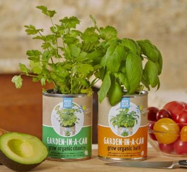 Back To The Roots Garden in a Can Grow Organic Cilantro, 2 Count @ Amazon