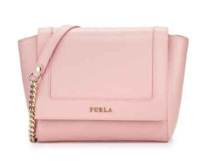 Furla  Ginerva Mini Leather Crossbody Bag, Winter Rose @ LastCall by Neiman Marcus