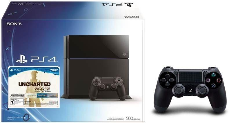 $329.99 PlayStation 4 500GB Uncharted: The Nathan Drake Collection Bundle+ DualShock 4 wireless controller