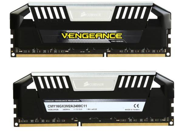 CORSAIR Vengeance Pro 16GB (2 x 8GB) DDR3 2400 Desktop Memory