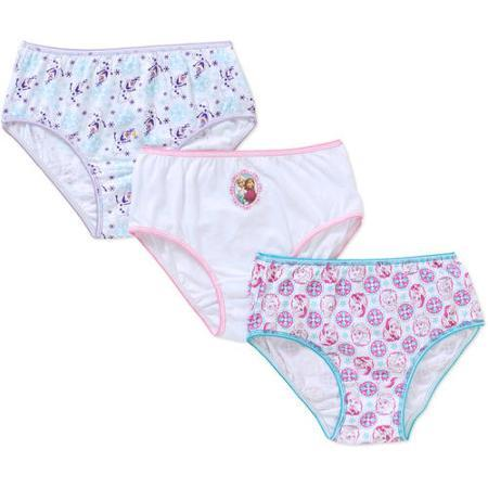 Disney Frozen Girls' 3-Pack Underwear @ Walmart