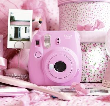 Fujifilm Instax Mini 8+ Instant Film Camera with Self-Shot Mirror
