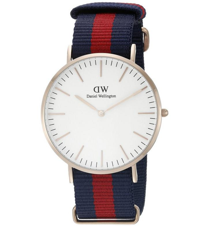 Daniel Wellington Men's 0101DW Classic Rose Gold-Tone Watch