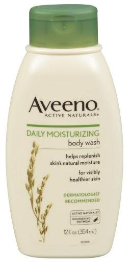 Aveeno Daily Moisturizing Body Wash, 12 Ounce (Pack of 3)