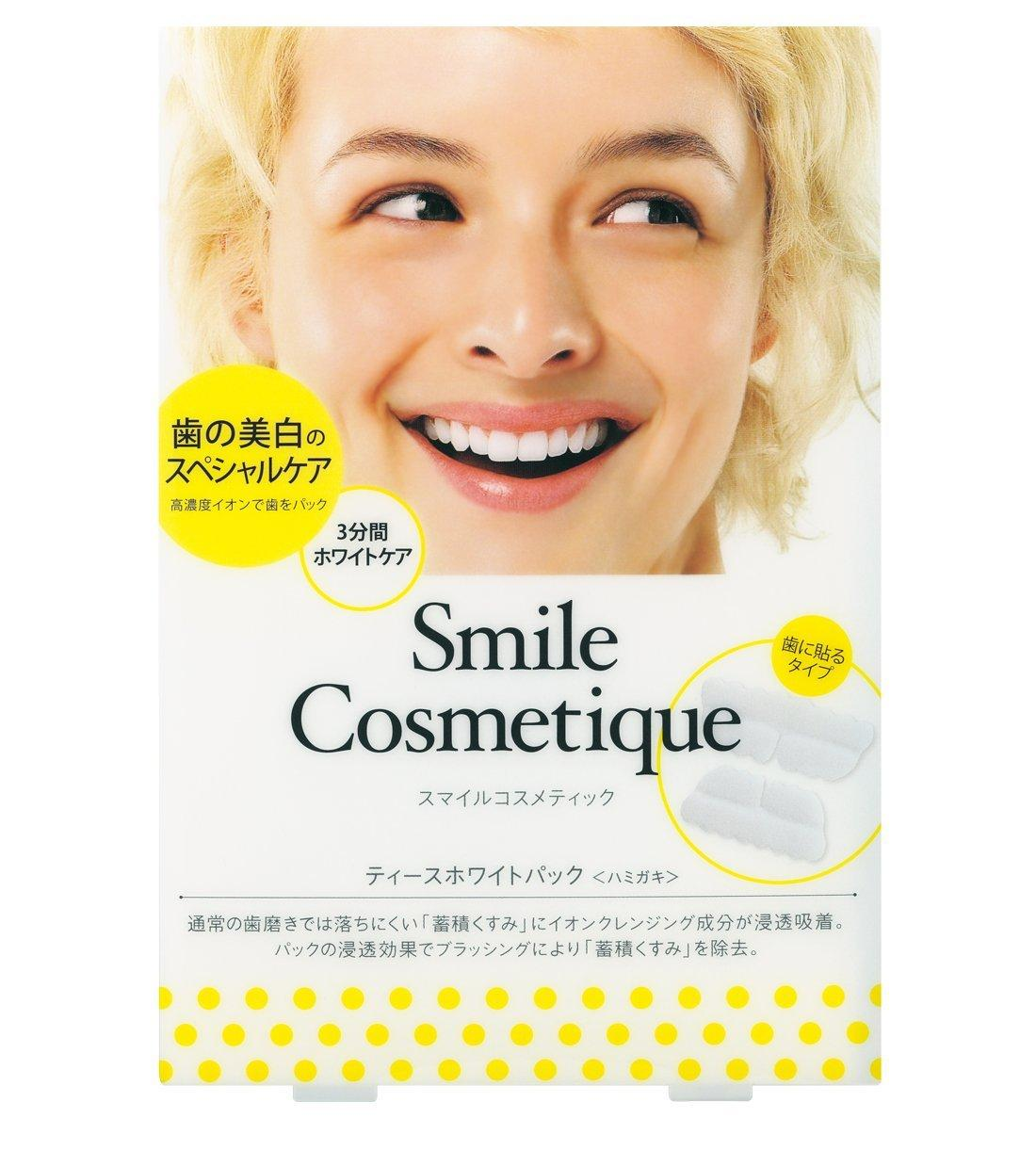 10% Off + Delivery from Japan Smile Cosmetique Teeth White Pack - 6 Packs
